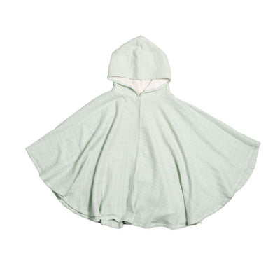 Fabelab Poncho - Beachgrass-Towels & Robes- Natural Baby Shower