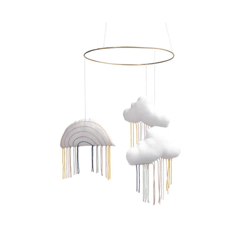 Fabelab Rainbow Sky Mobile-Baby Mobiles- Natural Baby Shower