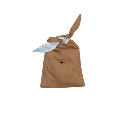 Fabelab Snack Bag - Bear Ochre-Lunch Bags- Natural Baby Shower