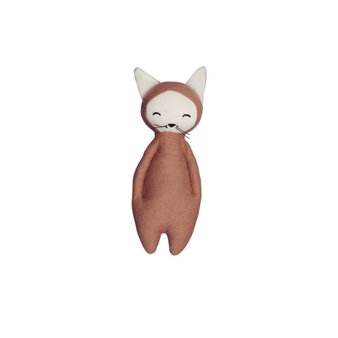 Fabelab Soft Rattle - Fox-Rattles- Natural Baby Shower