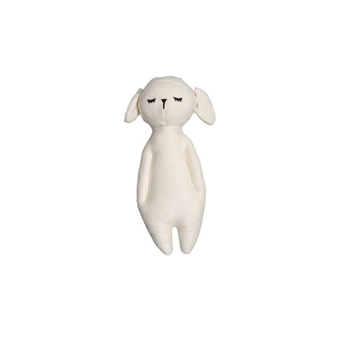 Fabelab Soft Rattle - Sheep-Rattles- Natural Baby Shower