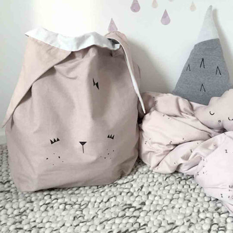Fabelab Storage Bag - Bunny-Storage- Natural Baby Shower