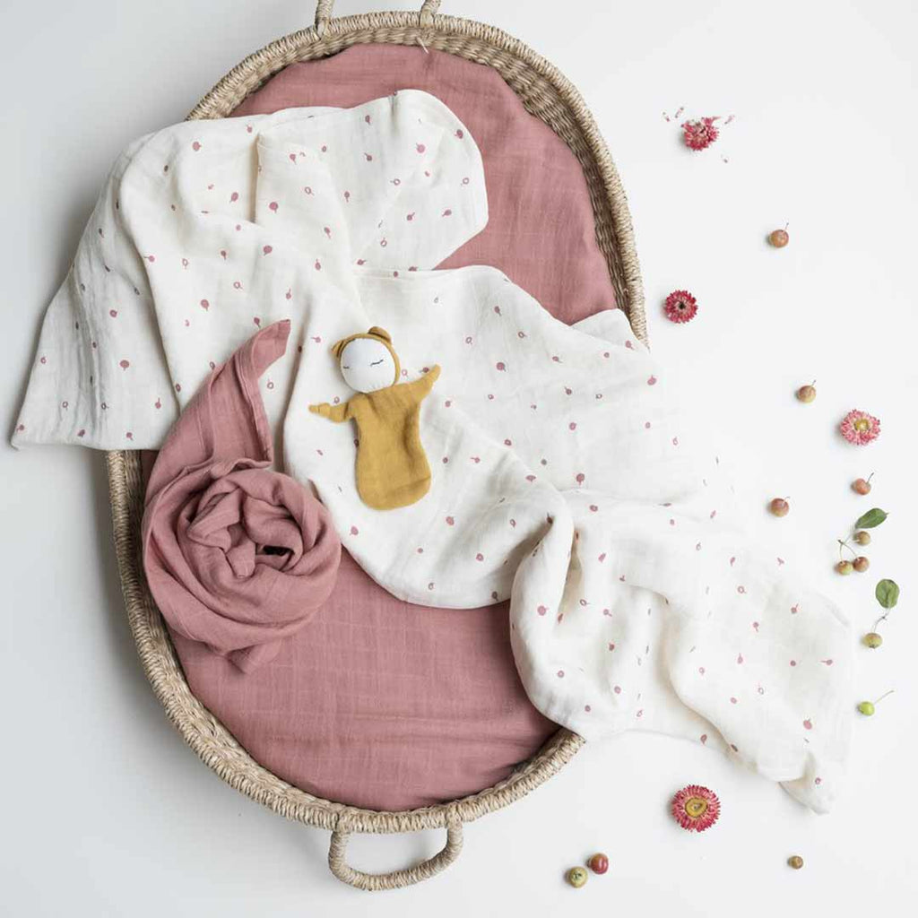 Fabelab Swaddle - Clay-Swaddling Wraps- Natural Baby Shower