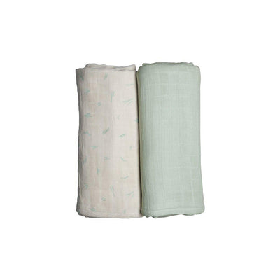 Fabelab Swaddles - Coastal - 2 Pack-Swaddling Wraps- Natural Baby Shower