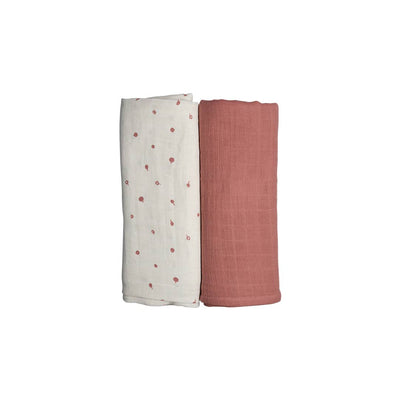 Fabelab Swaddle - Wild Berry - 2 Pack-Swaddling Wraps- Natural Baby Shower