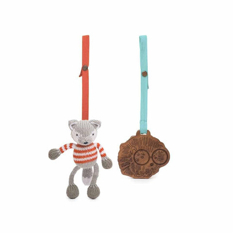 Finn + Emma 2pc Stroller Buddy Set - Finley the Fox