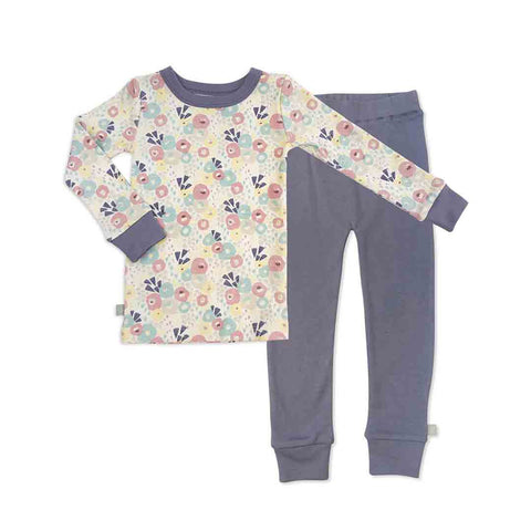 Finn + Emma Pajamas - Stonewash-Pyjamas- Natural Baby Shower