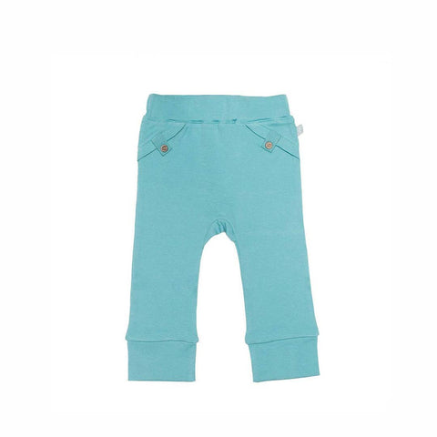 Finn + Emma Pants - Dusty Turquoise-Pants- Natural Baby Shower