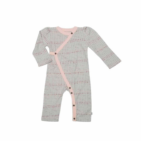 Finn + Emma Coverall - Scribble - Playsuits & Rompers - Natural Baby Shower