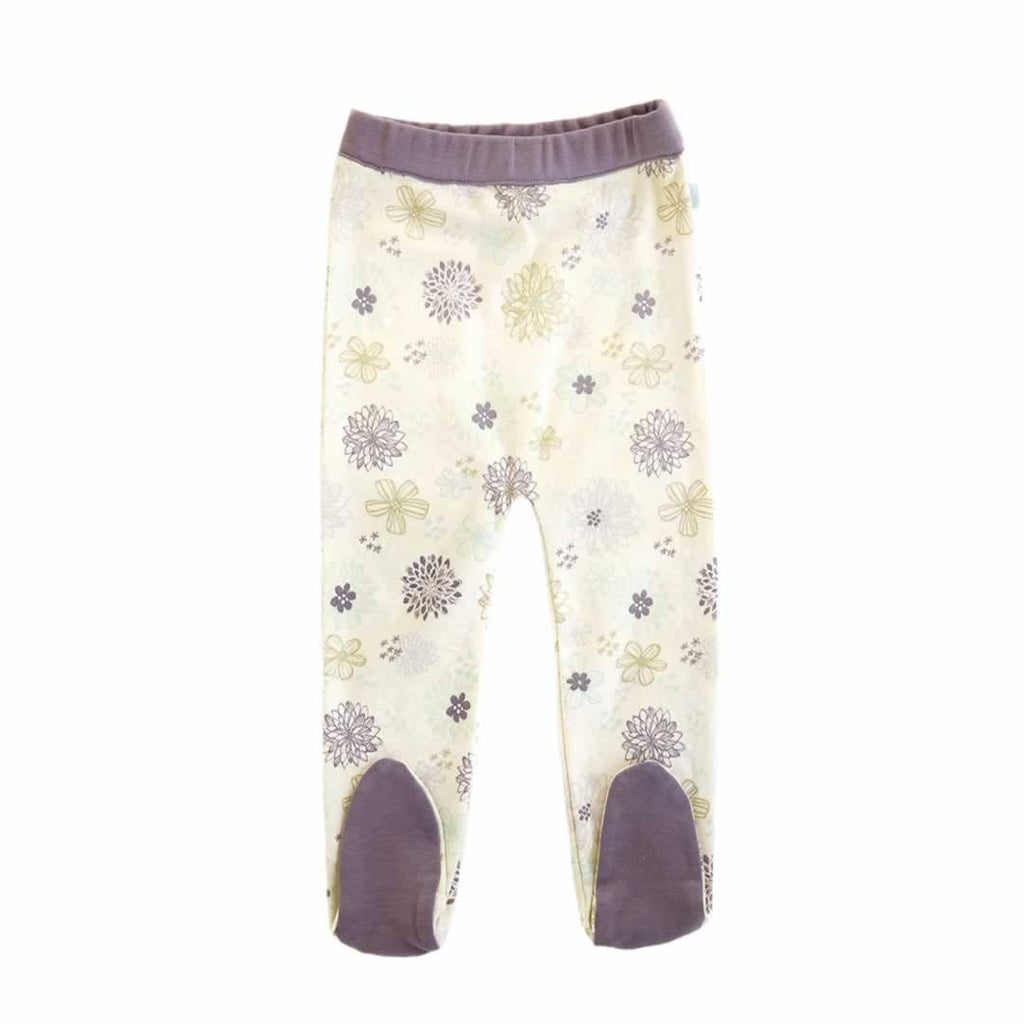 Finn + Emma Footed Pants in Flower Print