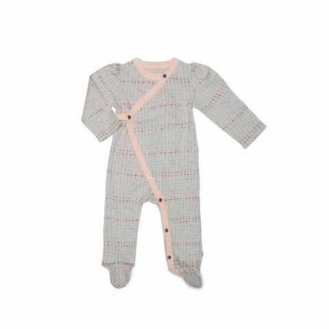 Finn + Emma Footie - Scribble - Babygrows & Sleepsuits - Natural Baby Shower