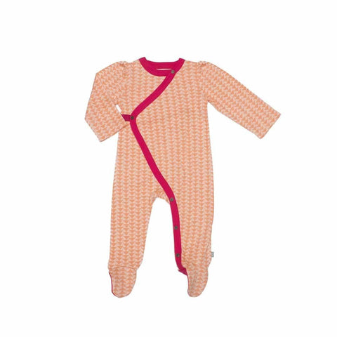 Finn + Emma Footie - Triangle - Babygrows & Sleepsuits - Natural Baby Shower