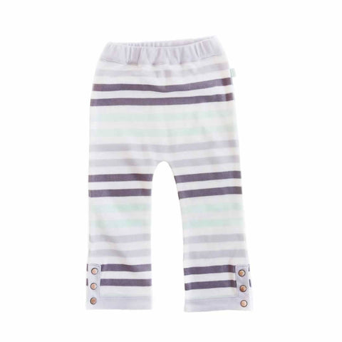 Finn + Emma Pants - Flower Stripe - Trousers & Leggings - Natural Baby Shower