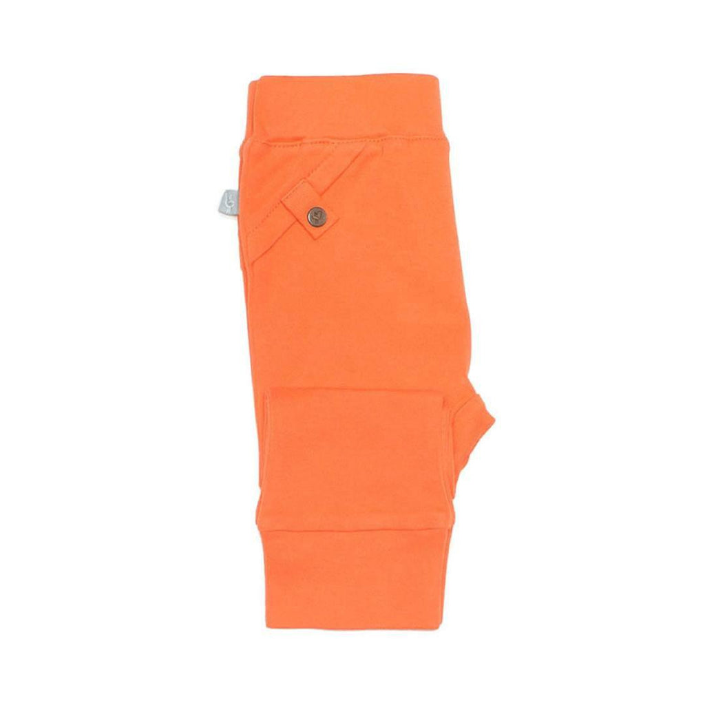 Finn + Emma Pants in Poppy Orange Side
