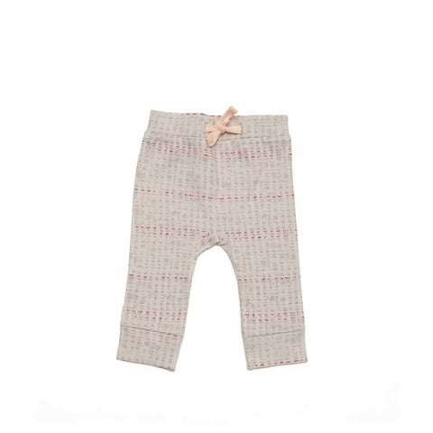 Finn + Emma Pants - Scribble - Trousers & Leggings - Natural Baby Shower