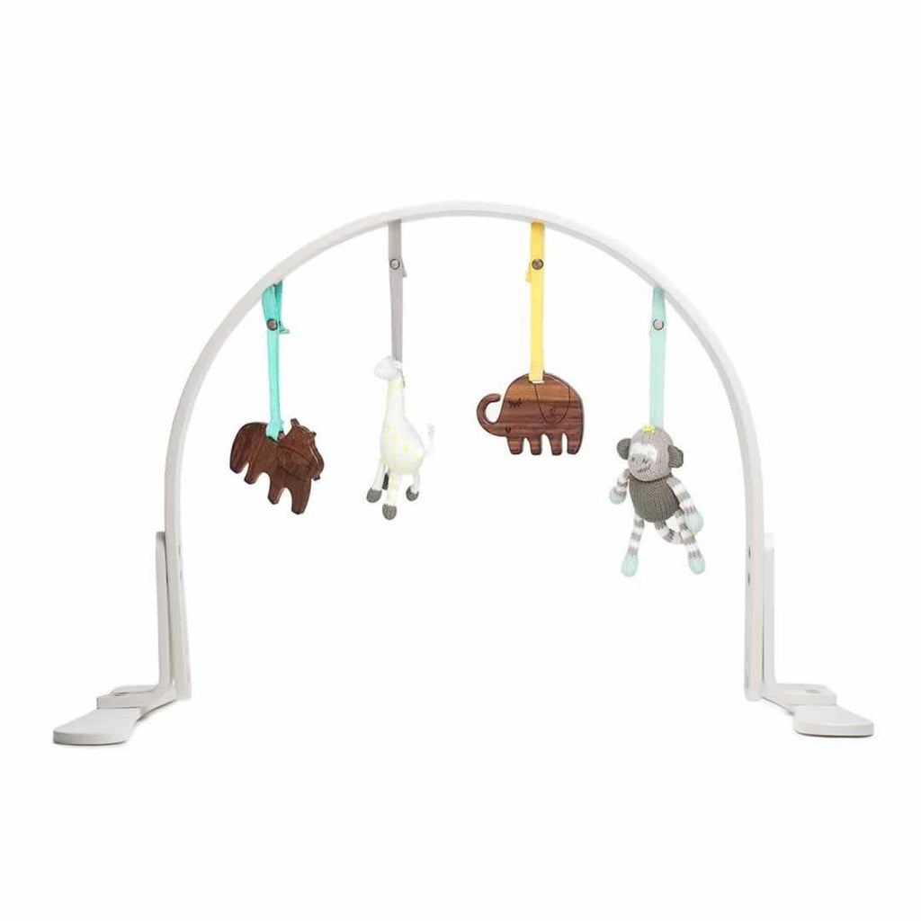 Finn + Emma Play Gym in Jungle White
