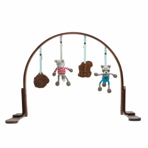 Finn + Emma Play Gym in Woodland Dark