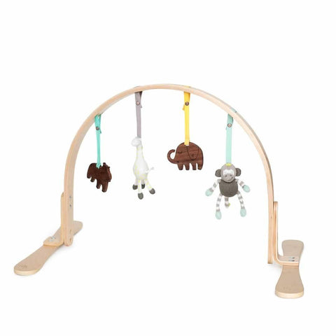 Finn + Emma Play Gym in Jungle Birch