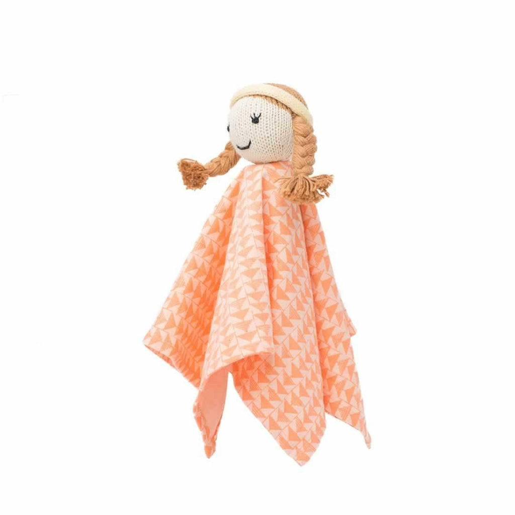 Finn + Emma Rattle Lovie - Clementine Side