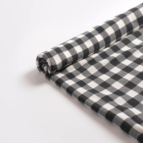 FreeRider Muslin - Gingham-Muslin Squares- Natural Baby Shower