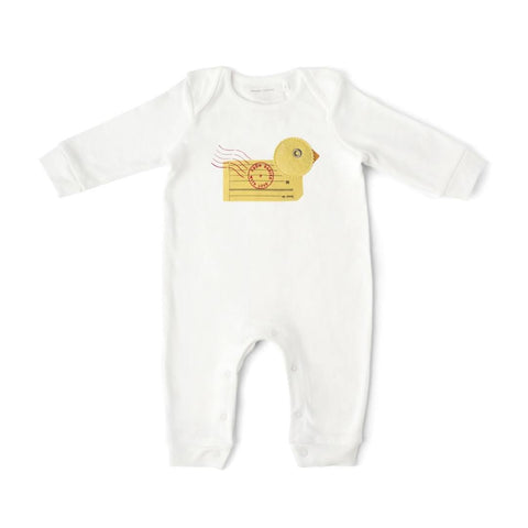 From Babies With Love Babygrow - Duck - Babygrows & Sleepsuits - Natural Baby Shower