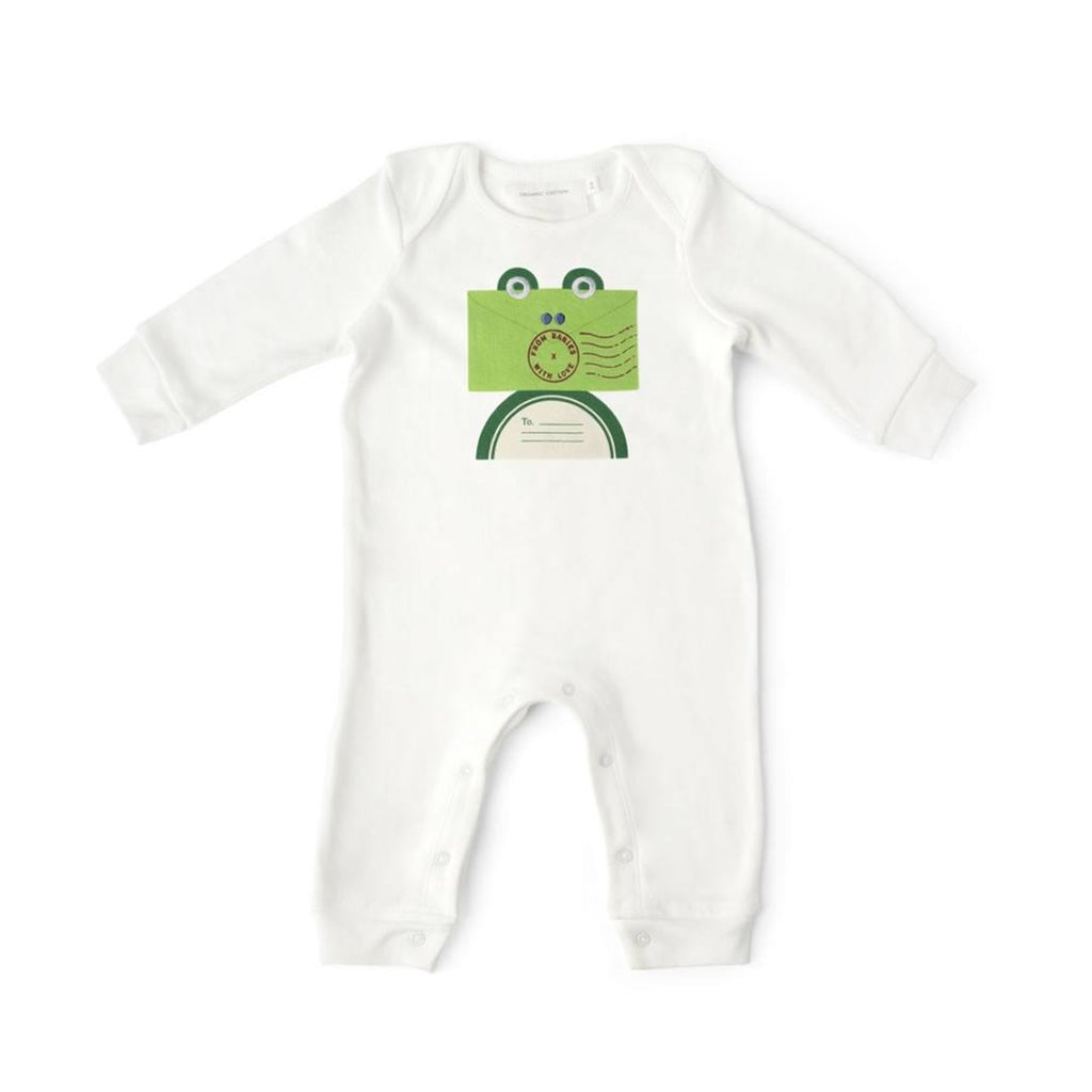 From Babies With Love Gift Set - Frog Babygrow