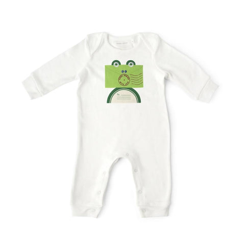 From Babies With Love Babygrow Frog