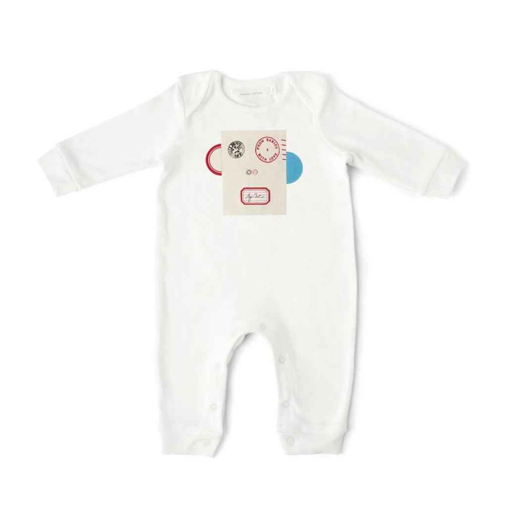 From Babies With Love Babygrow - Monkey - Babygrows & Sleepsuits - Natural Baby Shower