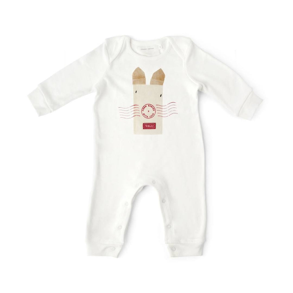 From Babies With Love Gift Set - Rabbit Babygrow