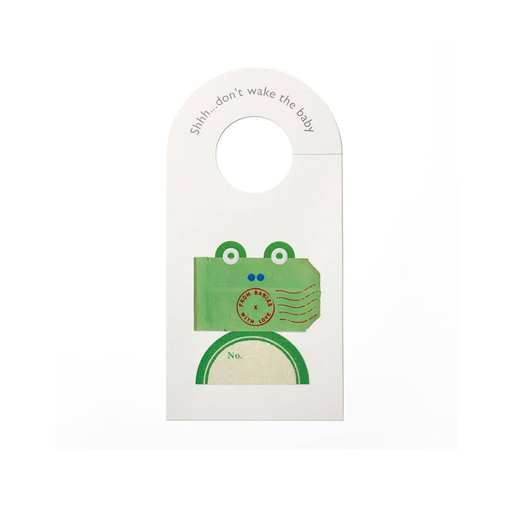 From Babies With Love Door Hanger The Frog