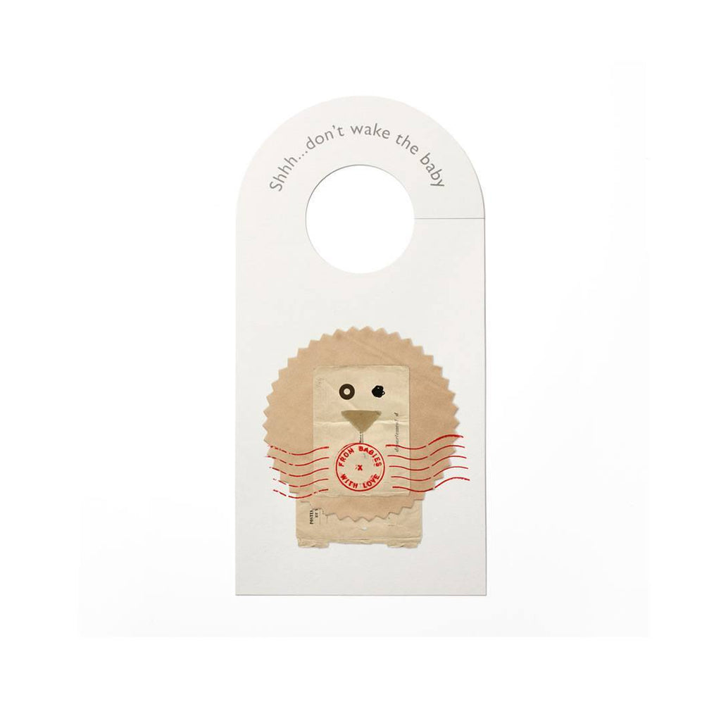 From Babies With Love Door Hanger The Lion