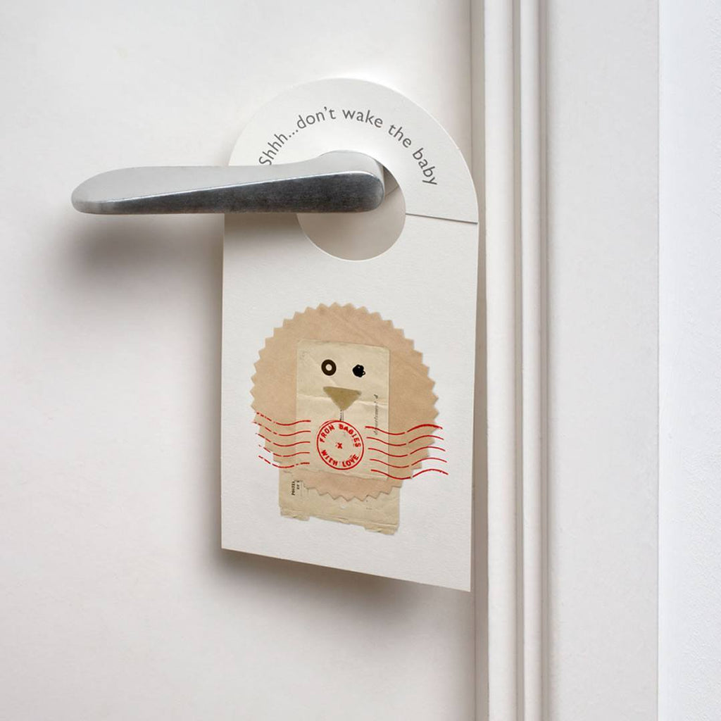 From Babies With Love Door Hanger in The Lion
