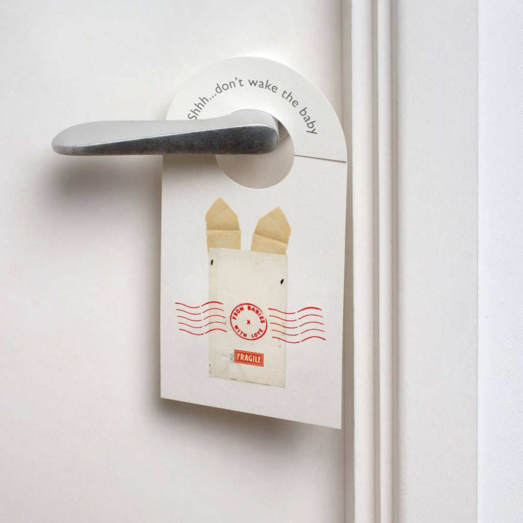 From Babies With Love Door Hanger in The Rabbit