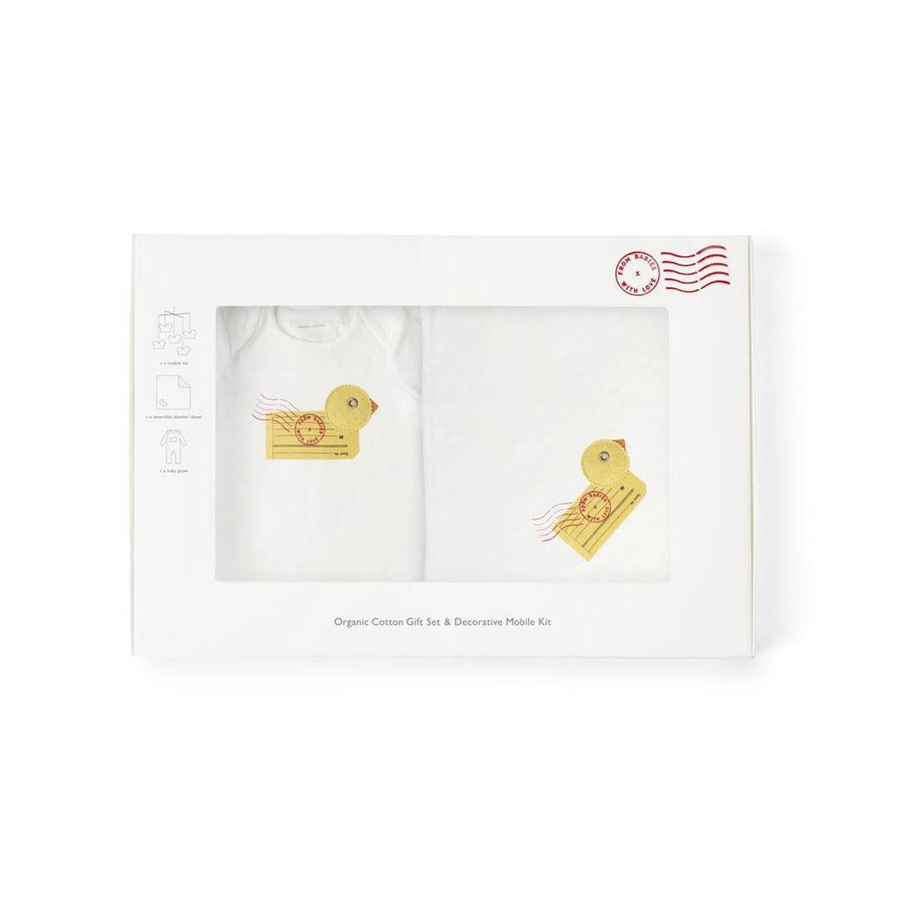 From Babies With Love Gift Set - Duck - Gift Sets - Natural Baby Shower