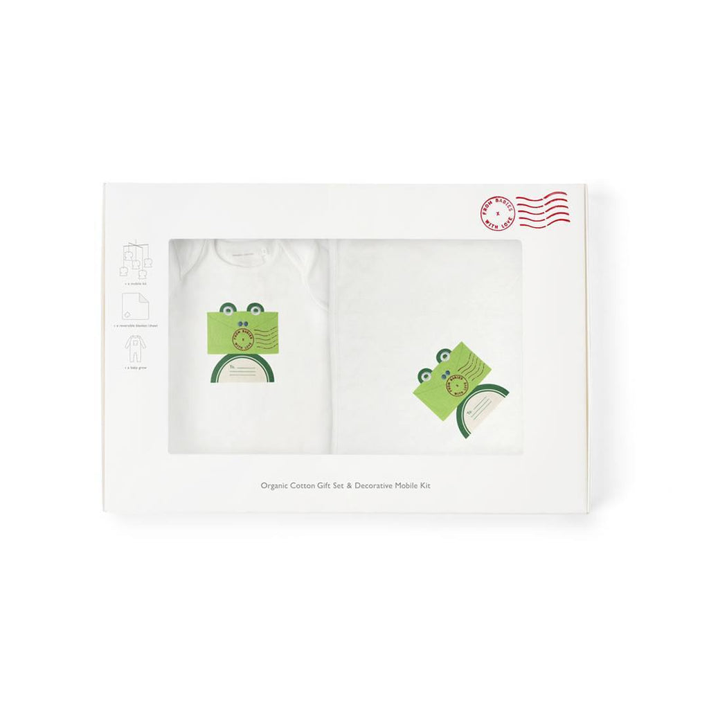 From Babies With Love Gift Set - Frog - Gift Sets - Natural Baby Shower