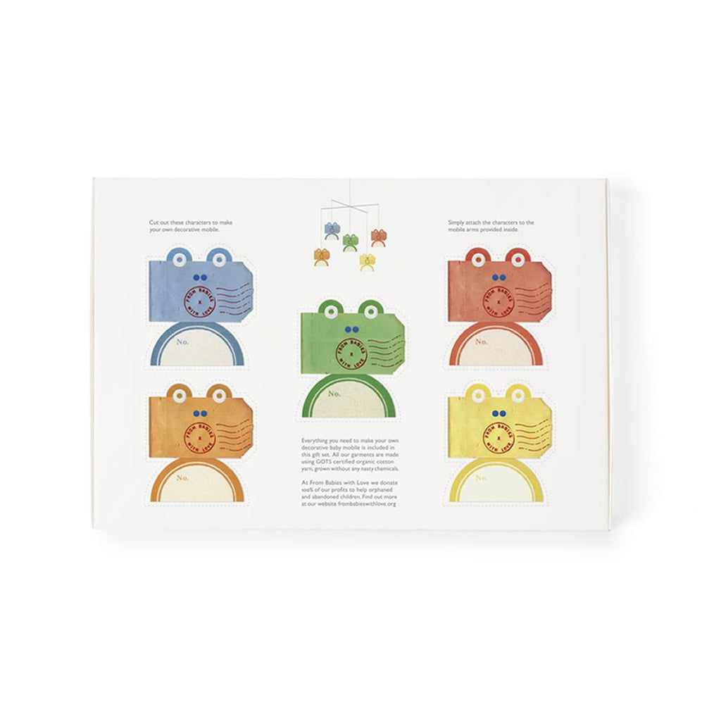 From Babies With Love Gift Set in Frog