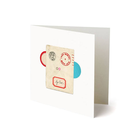 From Babies With Love Greetings Card - Monkey - Greeting Cards - Natural Baby Shower