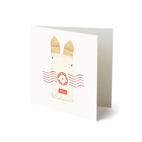 From Babies With Love Greetings Card - Rabbit - Greeting Cards - Natural Baby Shower