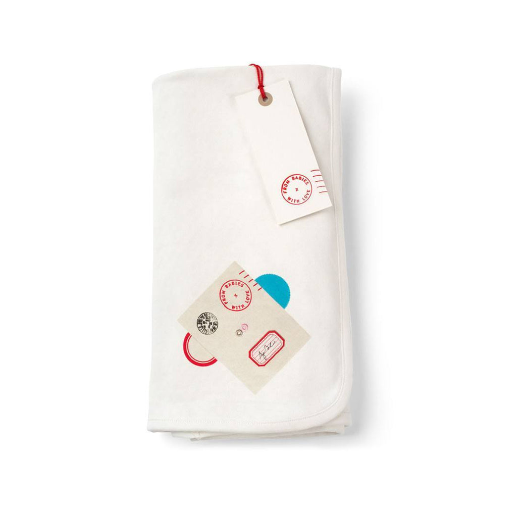 From Babies With Love Swaddle Blanket in Monkey