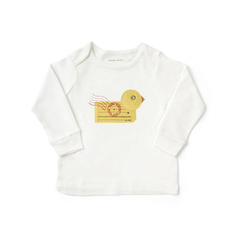From Babies With Love T-Shirt - Duck - Tops & T-shirts - Natural Baby Shower