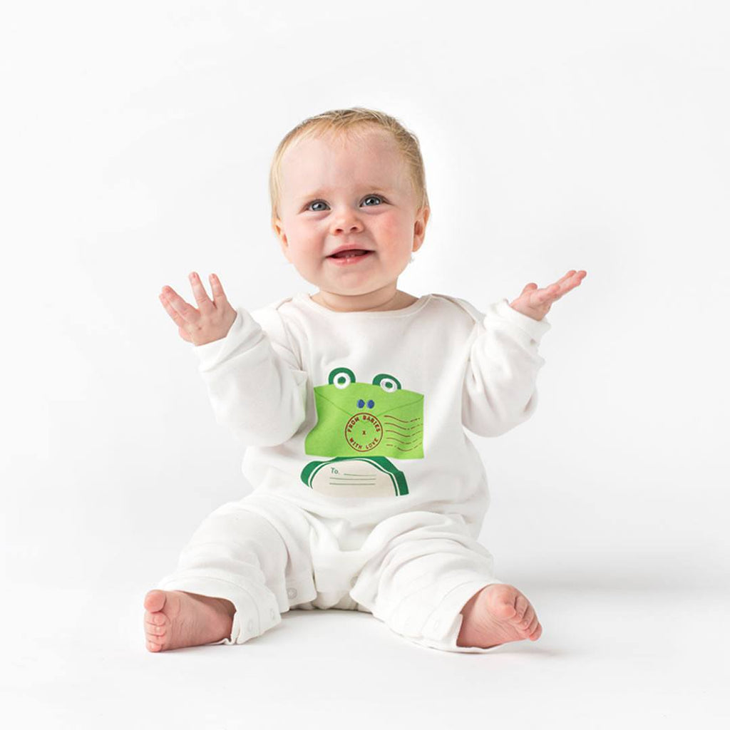 From Babies With Love T-Shirt - Frog - Tops & T-shirts - Natural Baby Shower
