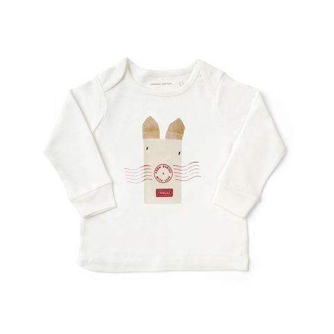 From Babies With Love T-Shirt - Rabbit - Tops & T-shirts - Natural Baby Shower
