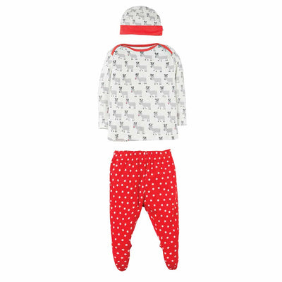 Frugi Adorable Gift Set - Reindeer March-Clothing Sets- Natural Baby Shower