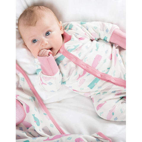 Frugi Darling Babygrow - Little Whale Lifestyle