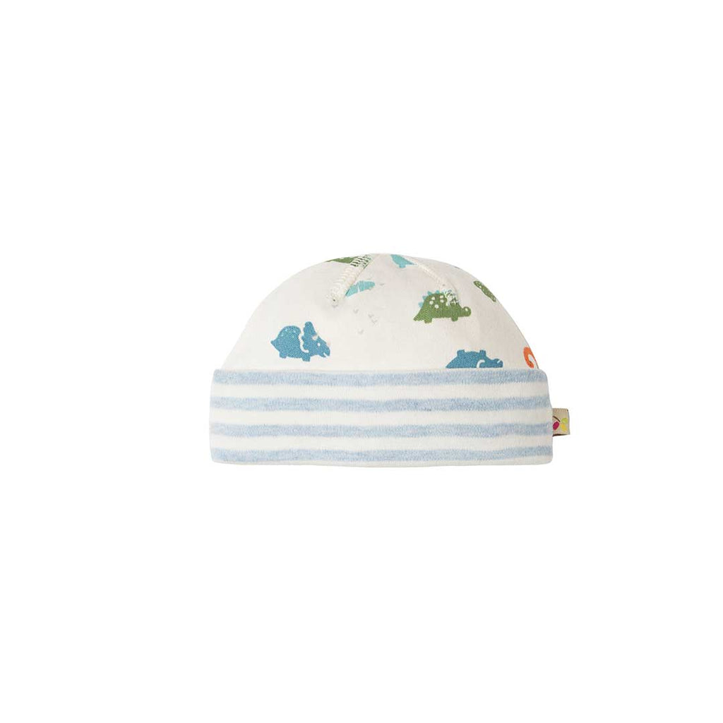 Frugi Dinky Hat - Dinky Dinos-Hats- Natural Baby Shower