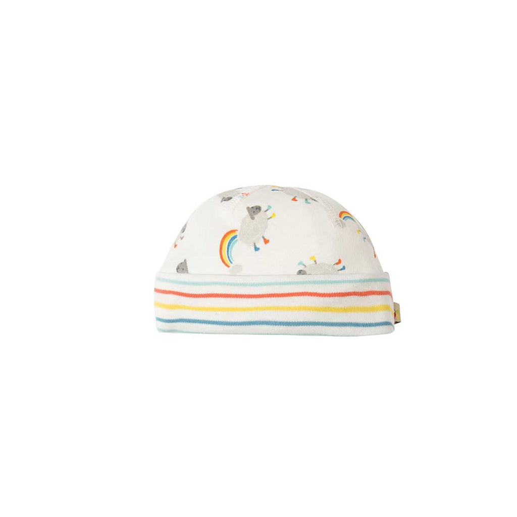 Frugi Dinky Hat - Little Lambs