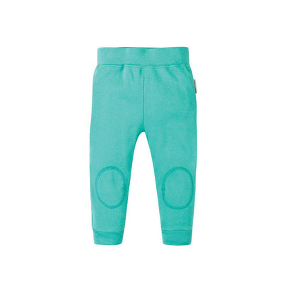 Frugi Favourite Cuffed Leggings - Pacific Aqua-Leggings- Natural Baby Shower