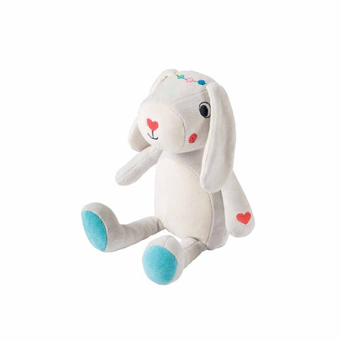 Frugi Froogli Soft Toy - Radish Rabbit-Soft Toys- Natural Baby Shower