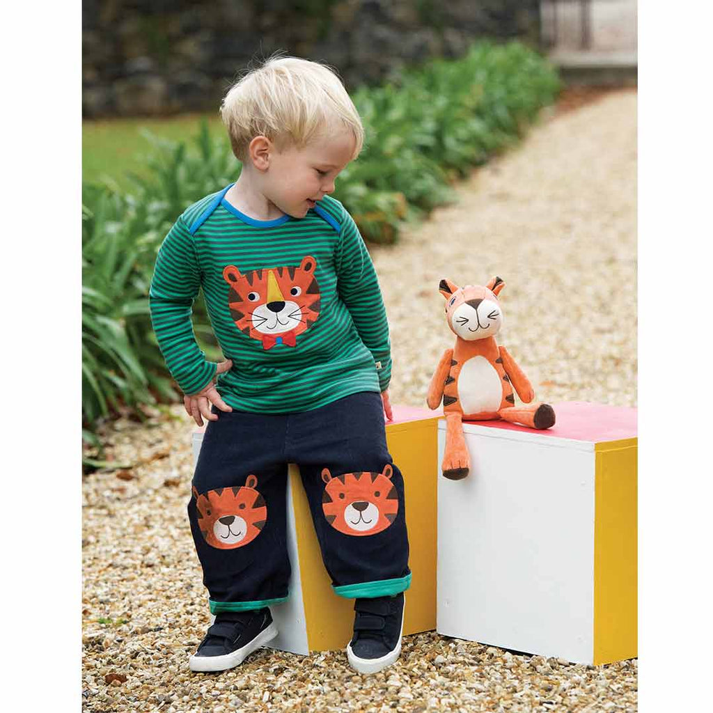 Frugi Froogli Soft Toy - Ziggy Tiger Lifestyle 1