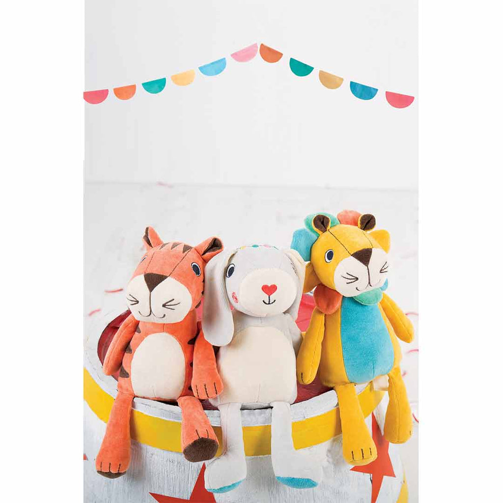Frugi Froogli Soft Toy - Ziggy Tiger Lifestyle